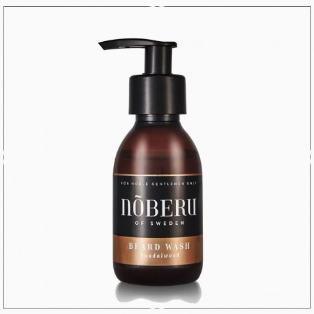 Shampoing pour barbe Noberu - bois de Santal (Sandalwood)