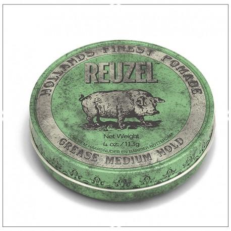 Green Pomade par Reuzel (fixation medium)