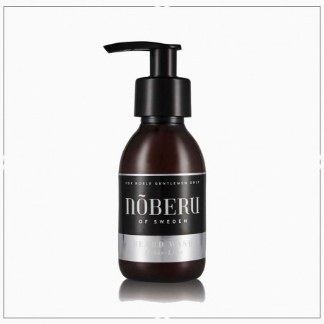 Shampoing pour barbe Noberu - Ambre et Limon (Amber Lime)