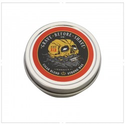 "Cire pour moustache ""Cigar Blend"" par Grave Before Shave - (Cigare & vanille)"