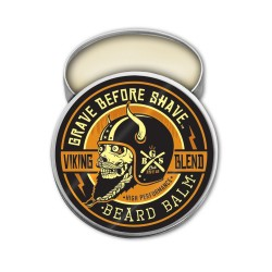 "Baume ""Viking Blend"" par Grave Before Shave - (Sans ajout de parfums)"