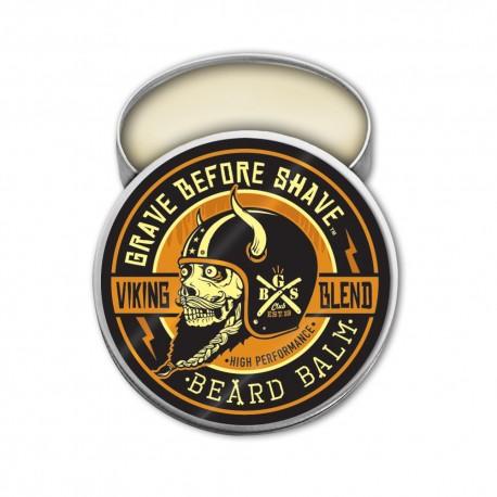 """Baume """"Viking Blend"""" par Grave Before Shave - (Sans ajout de parfums)"""