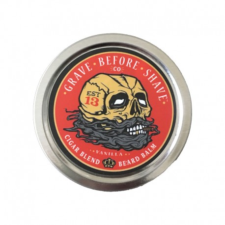 Baume pour barbe Grave Before Shave - Cigare et vanille
