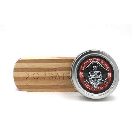 Pack Bay Rum - Baume et brosse à barbe