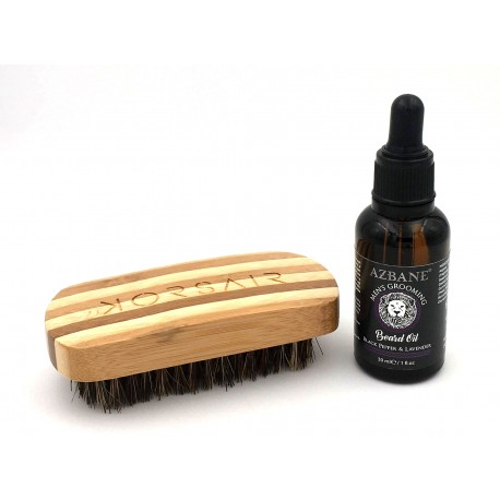 Pack Black pepper - Huile et brosse à barbe