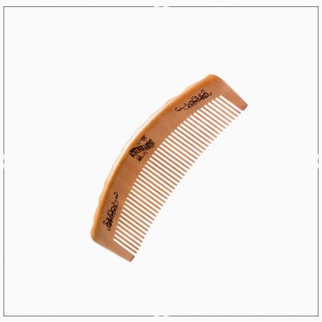 Peigne en bois pour barbe et cheveux